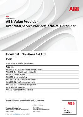 Industrial IT Solutions_Certificate repr
