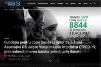 """Fundația pentru copii Șansa la Viitor se alătură inițiativei Asociației Dăruiește Viață de combatere a coronavirusului COVID-19 în România, care a anunțat că toate donațiile primite, începând cu data de 11 martie, vor fi redirecționate către sprijinirea eforturilor derulate de instituțiile care gestionează criza, pentru consolidarea capacității sistemului medical românesc de prevenire și tratare a pacienților. Începând cu 15 martie, Fundația pentru copii Șansa la Viitor va redirecționa toți banii primiți prin donații către Asociația Dăruiește Viață în vederea achiziționării de materiale și echipamente medicale pentru tratarea celor infectați cu coronavirus. Donațiile prin SMS la 8844 cu textul IUVO, donațiile în cont, de la Banca Raiffeisen Bank Agentia Sincai: CONT RON – RO16 RZBR 0000 0600 2111 2O31, CONT EURO – RO08 RZBR 0000 0600 2138 2541 sau orice altă formă de donație.  """"Echipa Fundației pentru copii Șansa la Viitor a inteles gravitatea acestei situații și dorește să se implice în combaterea pe plan medical a acestui virus periculos. Astfel că, pentru siguranța viitorului nostru, am decis ca sumele strânse din donații începând cu data de 15 martie, să fie redirectionate catre Asociația Dăruiește Viață, care va folosi banii pentru pentru echipamentele și consumabilele necesare luptei împotriva COVID-19"""", a declarat Claudia Alexa, co-fondator Fundația pentru copii Șansă la Viitor.  Despre Dăruiește Viață  Asociația Dăruiește Viață a fost fondată în 2012 de Carmen Uscatu și Oana Gheorghiu, continuând astfel munca începută în regim de voluntariat de sprijinire a bolnavilor de cancer și dotare a unităților medicale din România. De la înființare, Dăruiește Viață a schimbat un Ordin de Ministru, a oferit sprijin bolnavilor de cancer în relația cu Autoritățile, a modernizat mai multe secții de oncologie din țară (Brașov, Timișoara, Cluj, București), a triplat capacitatea de transplant a României, construind 20 de camere sterile și a demarat cel mai mai proiect de imp"""