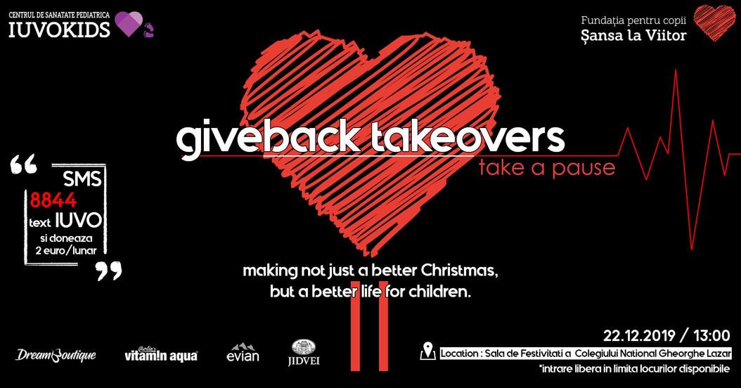 Giveback Takeovers II | Sansa la Viitor