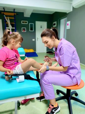 Dynamic Taping în domeniul pediatric
