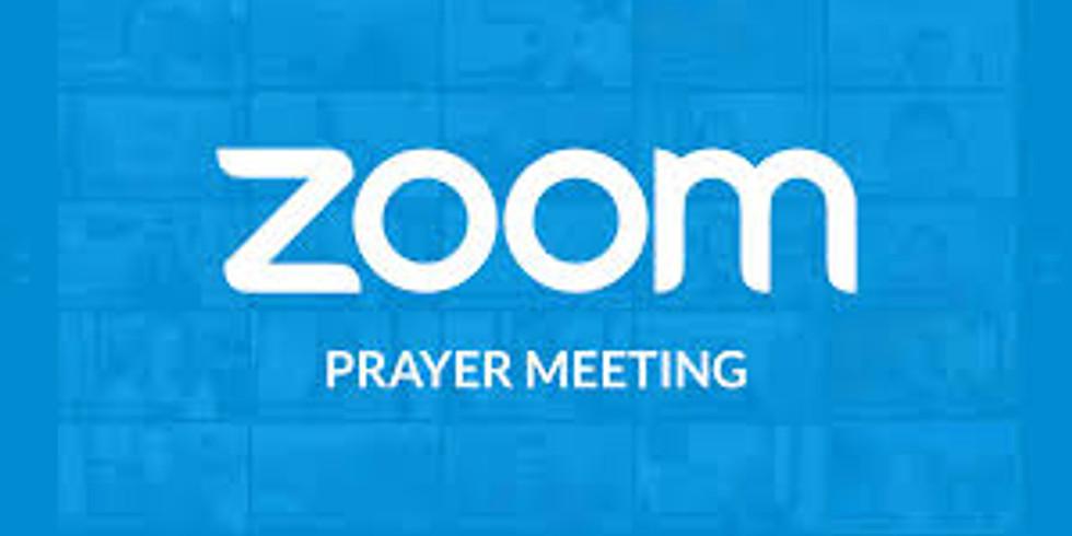 ZOOM DAILY Prayerline Access Code: 8981401266