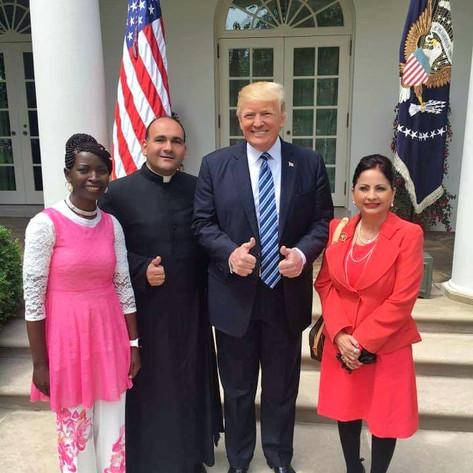 Prayer Breakfast with President Donald J Trump