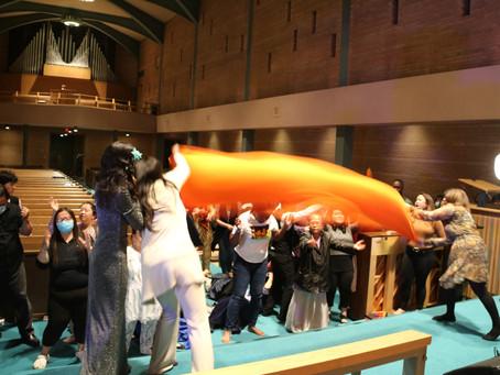 Revival: Baptism of Holy Spirit & Fire, Massive Deliverances + Holy Fire Captured by Camera -