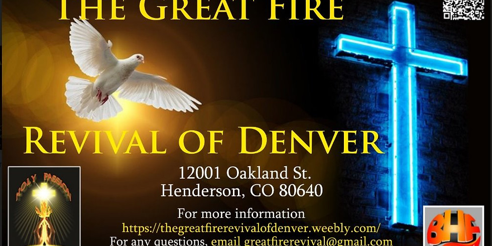 THE GREAT FIRE REVIVAL ~  Reignite the Fire of God Within Your Heart
