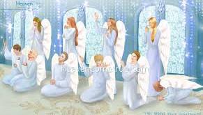 Kegiatan Para Malaikat Di Saat Anda Berdoa