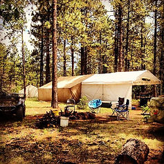 Mountain States Guide Service camp