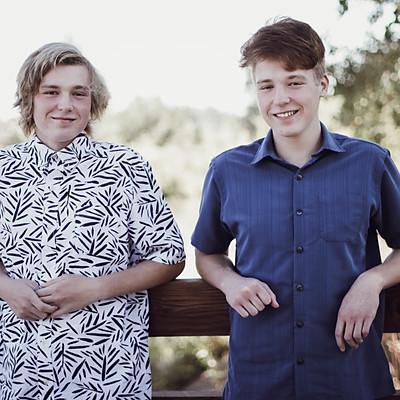 Brendon and Kaden