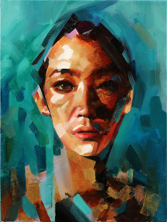Mask of Dignity_Study (SOLD)