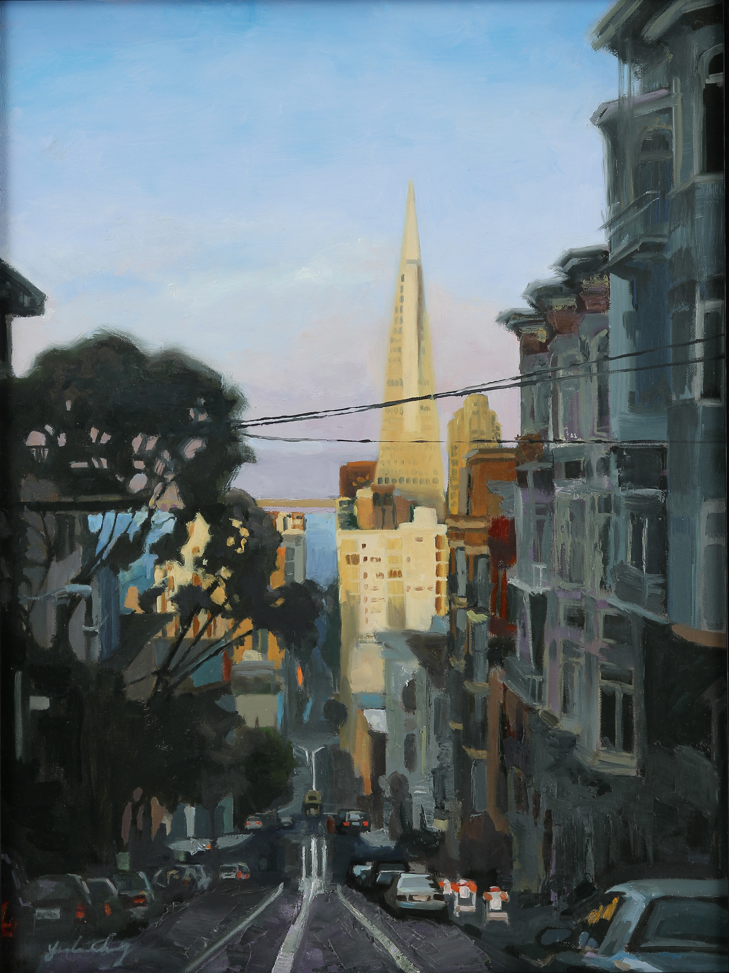 Evening at Clay Street (SOLD)