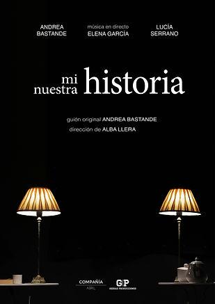 MI HISTORIA, NUESTRA HISTORIA cartel ver