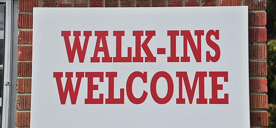 walk-s-welcome-sign-building-serves-customers-clients-appointment-80112054.jpg