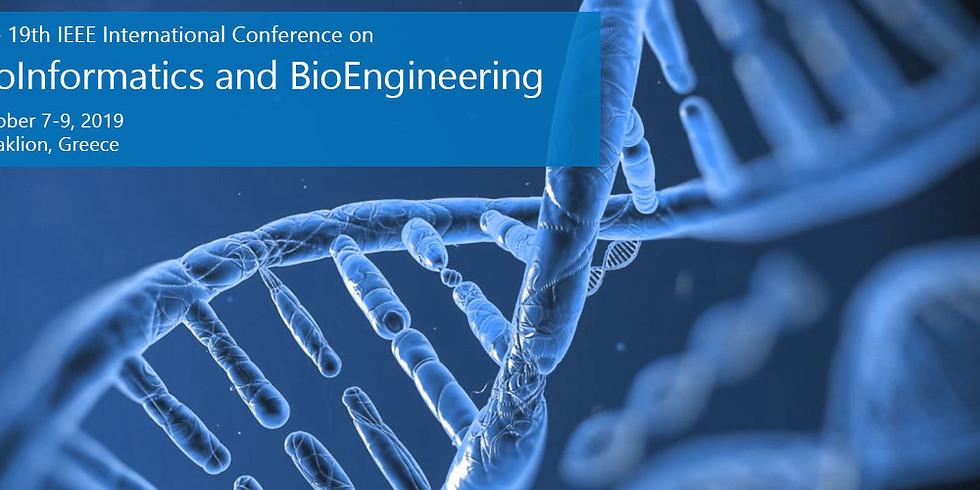 19th annual IEEE International Conference on Bioinformatics and Bioengineering