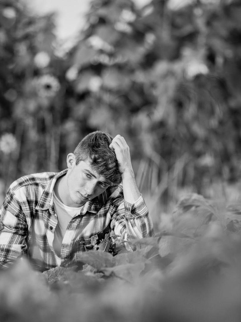 Senior shoot in Augest