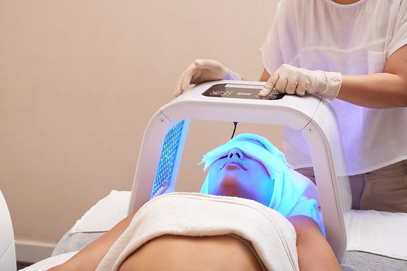 LED Light Therapy Treatment for wrinkles, acne, redness, and more