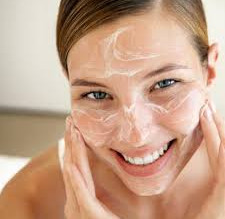 Be sure to spend a little extra time washing your face - let your cleanser work for you by getting t