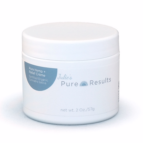 Pure Results Hemp + anti-inflammation creme