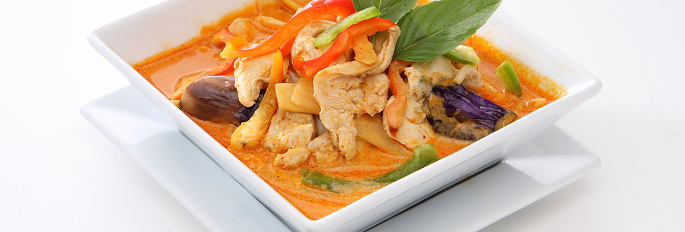 Red Curry Set With Jasmine Rice (Serving for 2)
