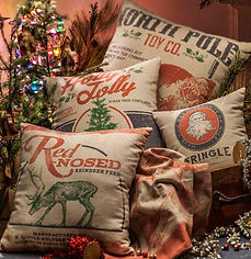 decorated pillows