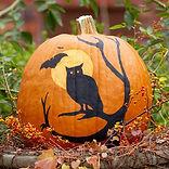 paintd pumpkin