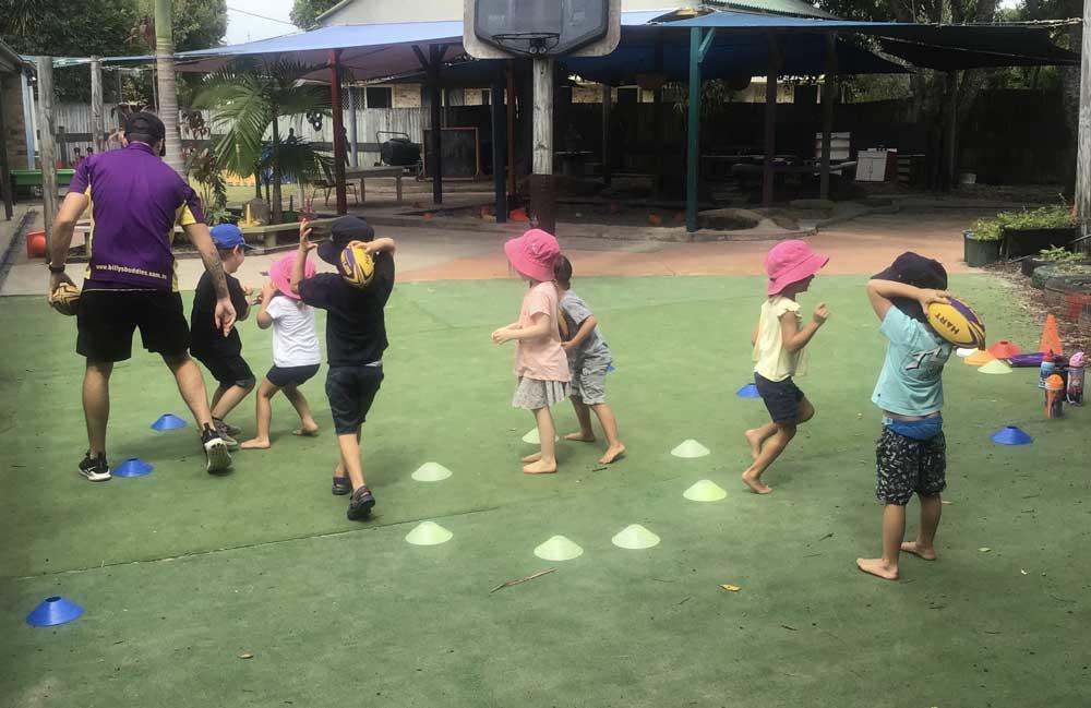 Children Playing - Dragonfly's ELC Coolum Beach