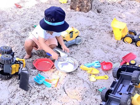 Having Fun in the Sandpit!!