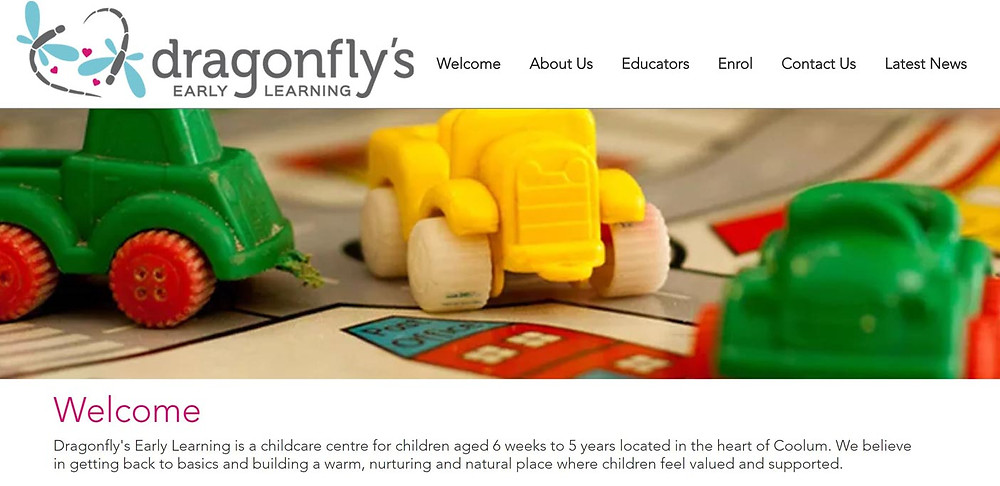 Dragonfly's Early Learning Website Launching