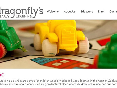 Dragonfly's Early Learning New Website Launching TODAY!