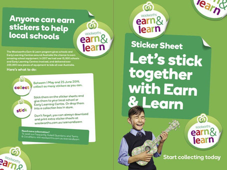 Woolworths Earn and Learn Programme