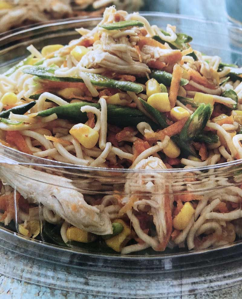Barbeque Chicken Noodle Bowl - Dragonfly's Early Learning
