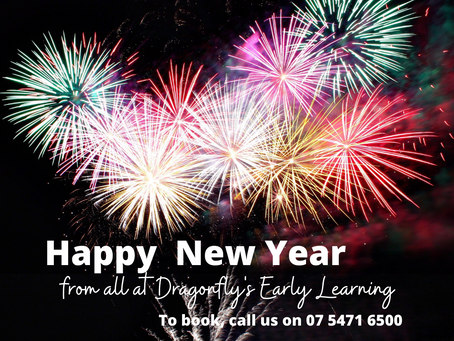 Happy New Year. Book with us in 2021