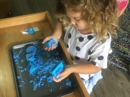 Kinetic Sand...i'ts Magic!!!