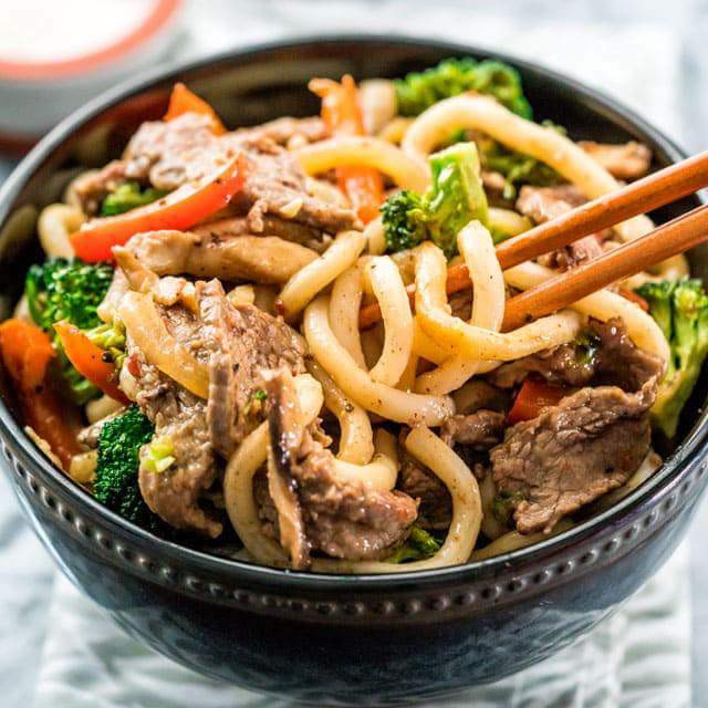 Garlic Beef and Broccoli Noodle - Dragonfly's Childcare Recipes