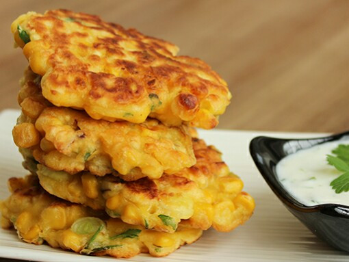 Sweetcorn Fritters with Avocado Salsa Recipe - Dragonfly's Early Learning