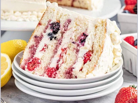 Chantilly Berry Cake... Delicious!