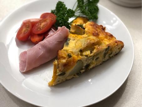 Leftover Vegetable Frittata