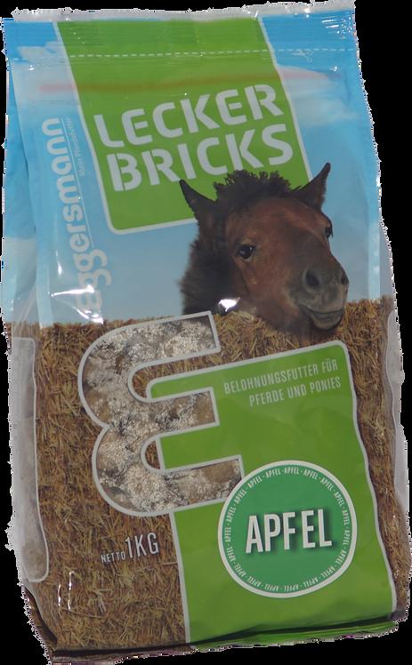 Tilskudsfoder med æble til hest - 1 kg