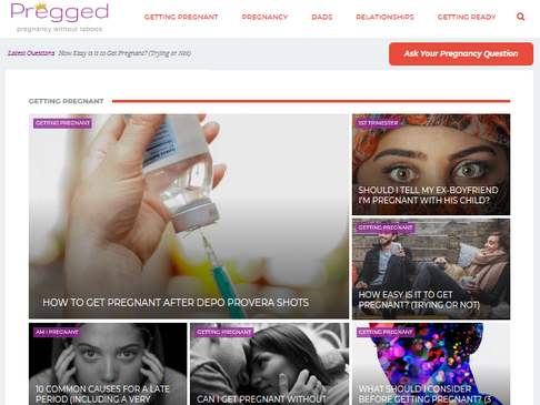 PREGGED.COM: THE PLACE TO BE FOR PARENTS-TO-BE