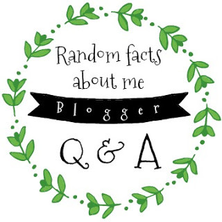 RANDOM FACTS ABOUT ME - BLOGGER Q&A