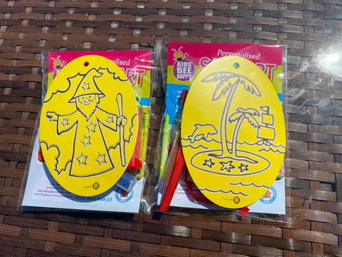 Fun For All Ages: Kids Be Happy Sand Art