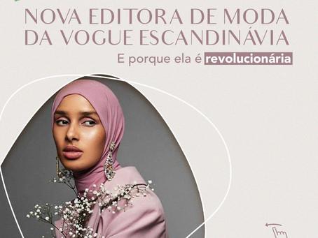 Nova editora de moda da Vogue Escandinávia
