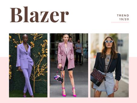 Trend alert: Blazer