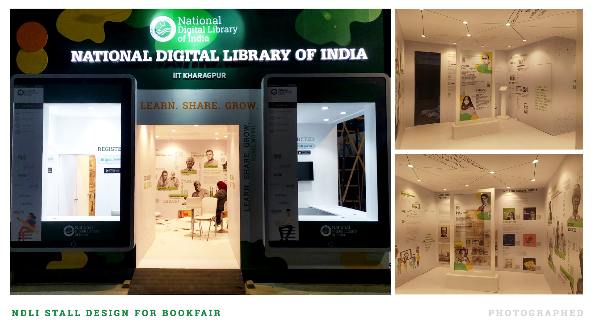 NDLI Stall Design