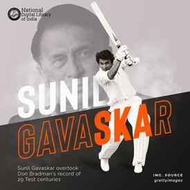 NDLI - Sunil Gavaskar