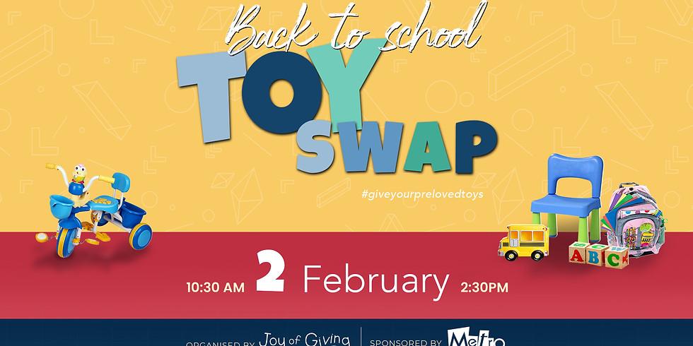 Toy Swap - Back to School
