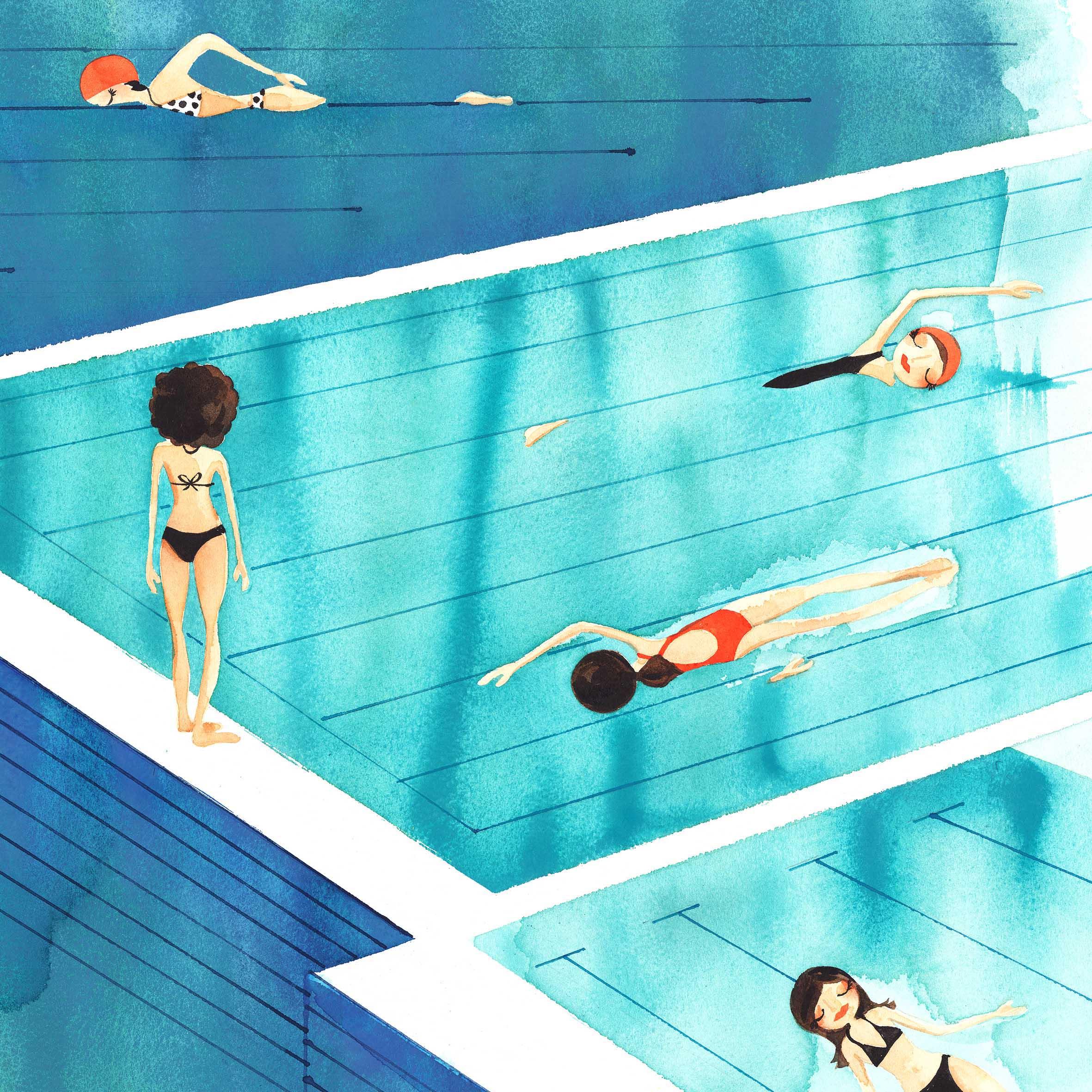 Cameron_SundaySwim_Watercolour_July18
