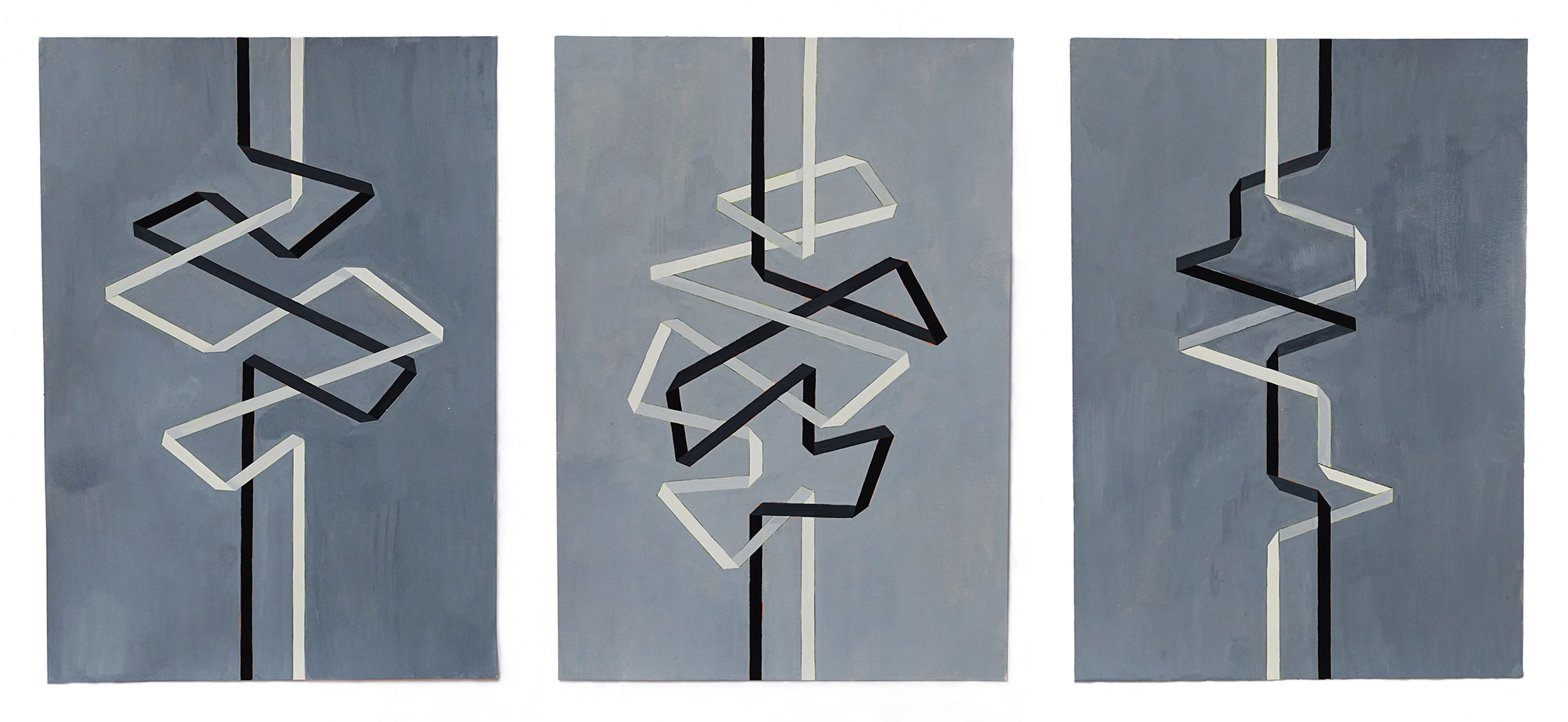 Odlum_Our separate ways_gouache on paper