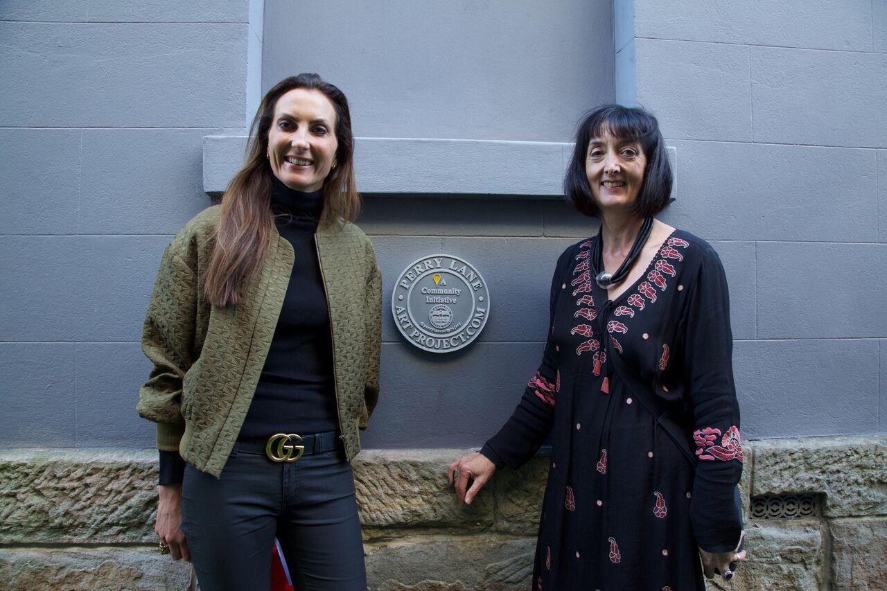 Susan Wynne and Rebecca Hearty