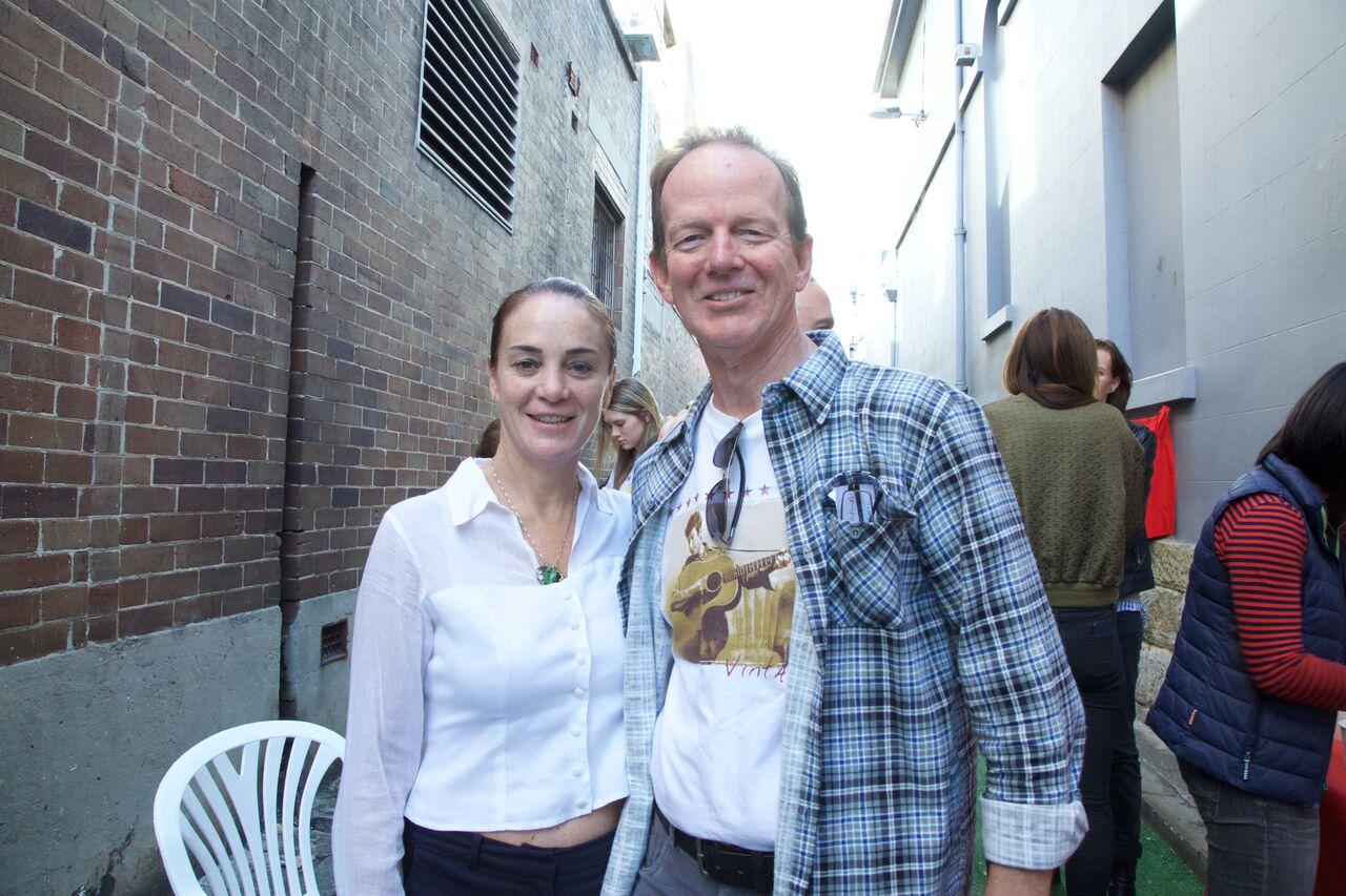 Peter Kauter and Kate O'Regan