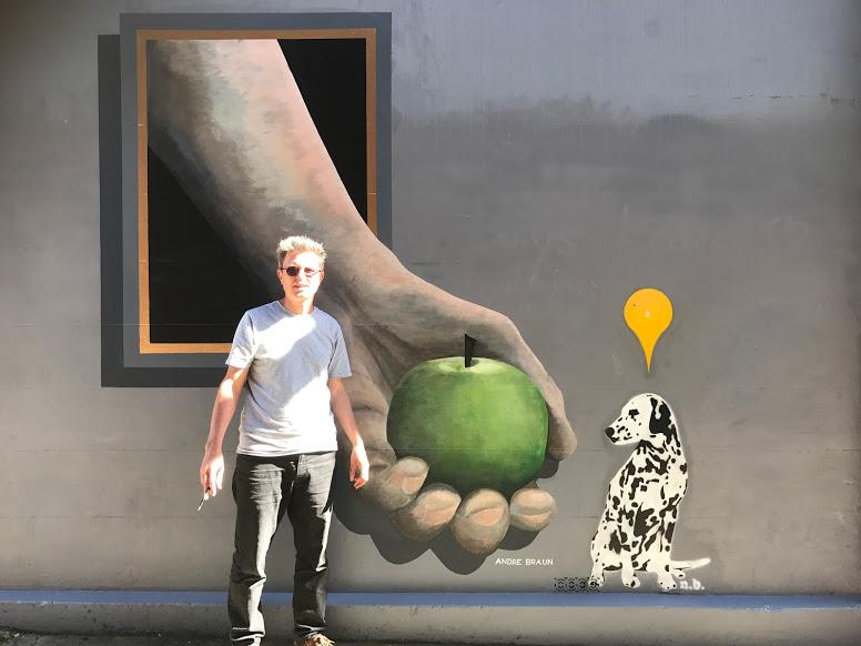 Andre Braun mural
