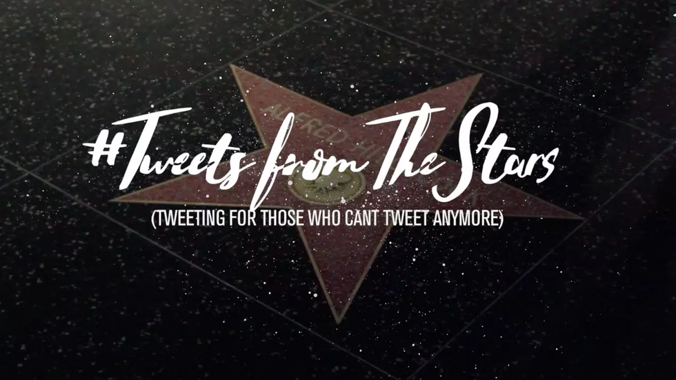 TWEETS FROM THE STARS